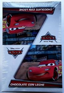 NEW Disney Cars Chocolate Egg Toy Surprise 6 Count Free Shipping