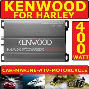 FOR HARLEY MOTORCYCLE MARINE RADIO STEREO POWER AMPLIFIER 4CH 400WATT