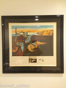 SALVADOR DALI PERSISTENCE OF MEMORY LITHOGRAPH CHANGES IN GREAT MASTERPIECES ART $22700.00
