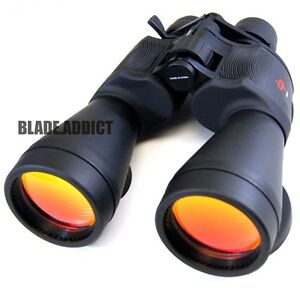 Day  Night 20-50x70 Military Zoom Powerful Binoculars Optics Hunting Camping