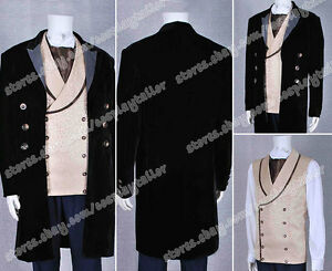 Who Purchase Doctor The 8th Doctor Cosplay Costume Suit Coat Jacket Shirt Vest