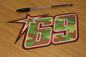 Nicky Hayden Decal For Sale