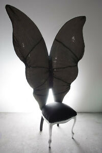 MARIPOSA-HANDCRAFTED SCULPTURE-CHAIR BY SARITA AND CATIA NANNI HUGE!
