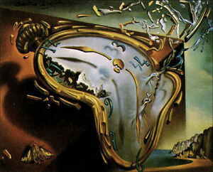 Melting Watch by Salvador Dali Giclee Canvas Print Repro $34.99