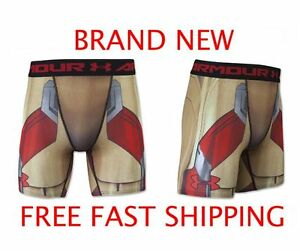 Under Armour Alter Ego Compression Shorts - Iron Man -Brand New