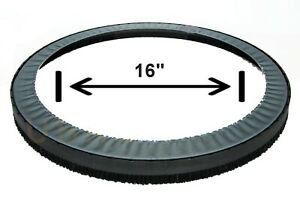 Dustless Buffer skirt for Bona Flexisand, Clarke - fits most Buffers 16-18