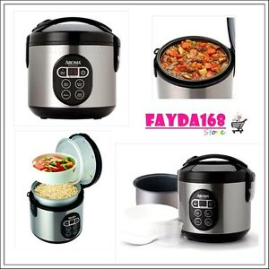 All in One Aroma Kitchen Food Maker Digital Rice Cooker Steamer Stainless Steel