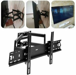 Full Motion Swivel Tilt LED LCD TV Wall Mount Bracket 32 37 40 42 52 56 60 65 70