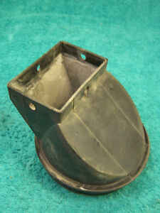 Goodman B2523505 Plastic Square to Round Furnace Vent Connecter Chimney Adapter $27.00