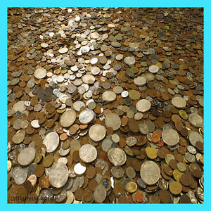 HUGE OLD COIN COLLECTION ESTATE SALE LOTS SET BY THE POUND WITH SILVER COINS