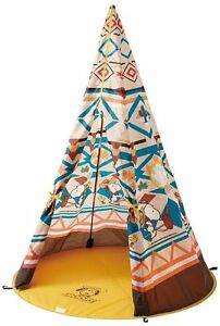 Logos 86001056 Tent SNOOPY KIDS Tepee Outdoor Sporting Goods From Japan