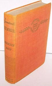Seventeenth Summer (Maureen Daly 1942 Hardcover) FIRST ED.  SIGNED VERY Rare