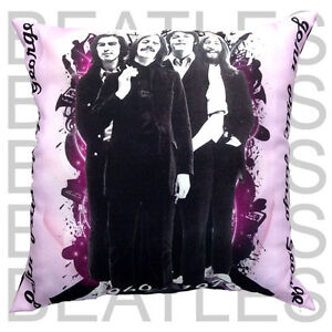 Beatles picture Cushion with Pad filling and cover complete