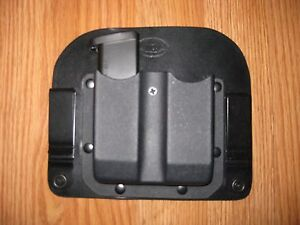 IWB Hybrid adjustable retention KydexLeather Double Magazine Carrier