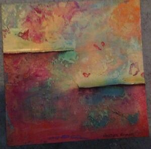 8x8 Original Signed Painting by Heather Haymart $60.00