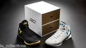 NIB UNDER ARMOUR Curry 1 Championship Pack Splash Party 100%AU Ltd Edition 41EU