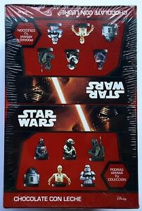 NEW Star Wars: The Force Awakens Chocolate Egg Toy Surprise 6 Eggs Free Shipping