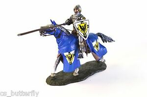 Cavalry Knight with Lancer 15th 132 Tin Toy soldier Handmade Painted