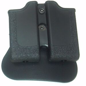 Paddle Double Magazine pouch Black for SIG SAUER 1911 22 by SigTac  SIG SAUER