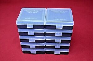 22 lr Ammo Box  Case  Storage (10 PACK CLEAR) 1000 Rnds of STORAGE (NO AMMO)