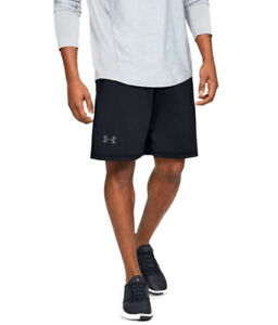 Under Armour UA RAID HeatGear® 10 inch Men's Black Athletic Gym Shorts $25.00
