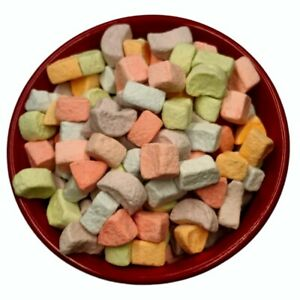 Dehydrated Cereal Marshmallows Assorted Colors 1 2 lb Bag $8.99