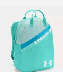 Under Armour Girls Favorite Backpack 3.0 Aqua Light GREEN Storm 15 LAPTOP New $24.95