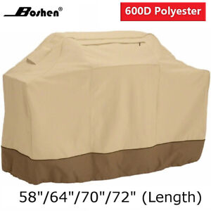 Boshen Heavy Duty BBQ Grill Cover Gas Barbecue Outdoor Waterproof 58 64quot; 70quot; 72quot;