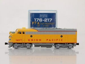 kato 176 217 n scale f7a union pacific up 1467