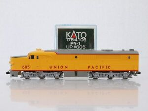 kato 106 4106 n scale pa 1 union pacific up 605