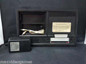 black console ac adapter no controllers