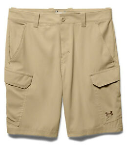 Under Armour UA Fish Hunter Men's Enamel Khaki Cargo Shorts