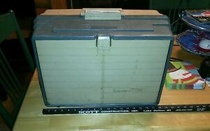 Vintage Plano 777S tackle box 5 drawer Good Used condition No tackle included