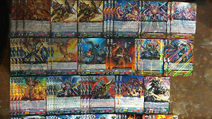 cardfight cfv kagero deck dragonic overlord the