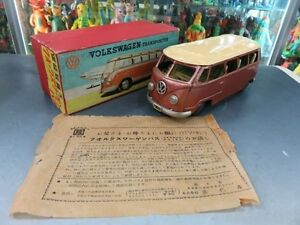 tin toy curiosities bandai volkswagen bus