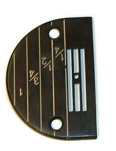 INDUSTRIAL SEWING MACHINE NEEDLE PLATE FOR JUKI BROTHER CONSEW #147150 BLACK $5.75