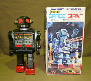 horikawa super space giant robot tin toys