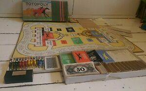 vintage rare 1938 1st edition totopoly