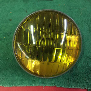 CORCORAN BROWN 6 VOLT REPLACEMENT FOG DRIVING LIGHT STEEL BACK BULB $30.00