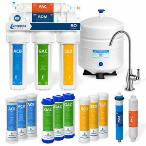 5 Stage Home Drinking Reverse Osmosis System PLUS Extra 7 Express Water Filters $169.99