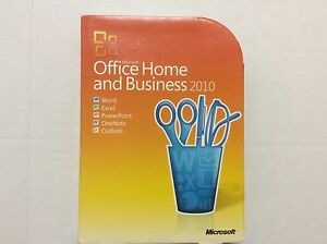Microsoft Office Home and Business  2010 3264 Bit 2 Pc Activation T5D-00417