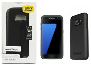 OtterBox Symmetry Series Case Cover for Samsung Galaxy S7 Black Authentic NEW