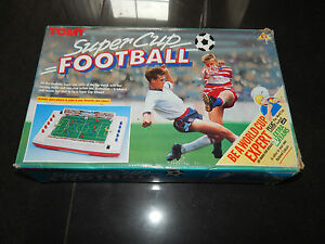 vintage electric super cup football fully
