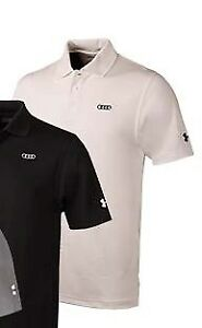 Audi Collection Under Armour Mens Performance Polo ACM-000-7WH-TX-L