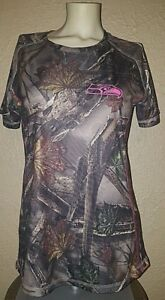 New Majestic NFL Seattle Seahawks Camo COOL BASE Dry Fit Shirt Womens Medium (M)