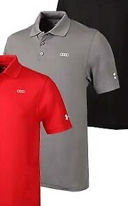 Audi Collection Under Armour Mens Performance Polo ACM-000-7CH-AM-D