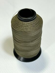 Polyester Sewing Thread Beaver Tan One 4oz Spool T90 1125 Yards Bonded P33 $13.95