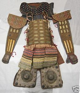 Old Rare Ming Dynasty Armor Suit Set for General Chinese Antique Garment #740