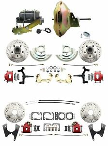 6772 A-body 4 Wheel Power Disc Brake Kit 11