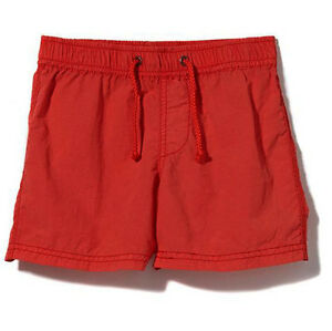 Cotton On Toddler Kid Boy Girl Unisex quick dry loose fit pull on short Orange